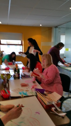 Local Mind Art Classes In High Wycombe, fun and creative.